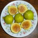 Yellow and Green Figs
