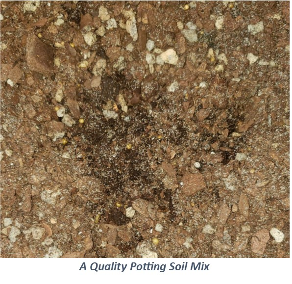 A Quality Potting Soil Mix
