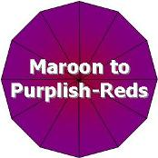Maroon, Burgundy, or Purplish-Red Foliage/Stems or Marked with those or similar colors